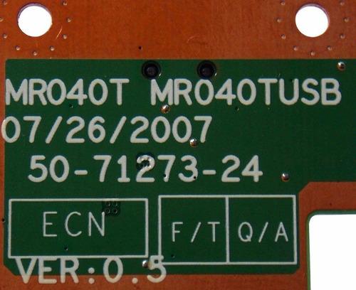 placa usb modelo: mr040t mr040tusb evolute sfx35