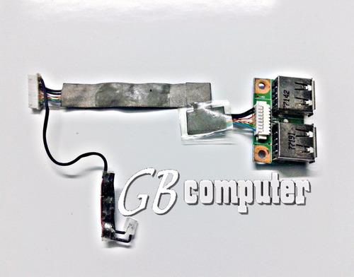 placa usb notebook compaq v3000 - 48.4f604.011 c/garantía!