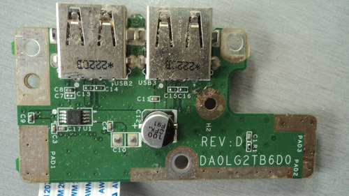 placa usb notebook lg s425 da0lg2tb6d0