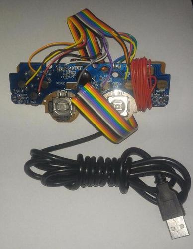 placa usb para montar controle arcade - frete $10