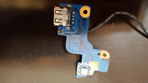 placa usb power button samsung rv411 rv415 rv420 ba92-07502a