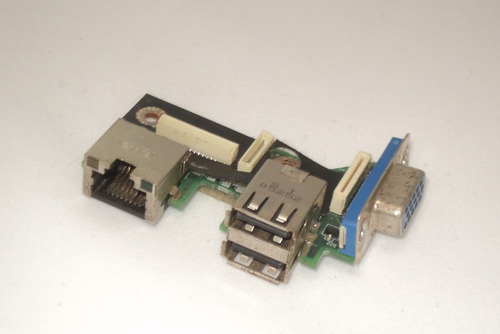 placa usb, rj45 e vga toshiba satellite m55