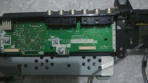 placa usb.av sharp completo com teclado de funções de comand