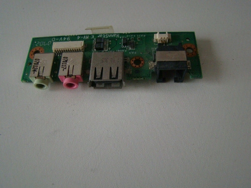 placa usb/som/modem notebook positivo v45