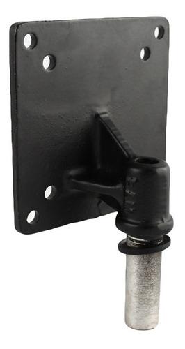 placa vesa ram mounts de 100x100 mm con poste de 1/2  npt