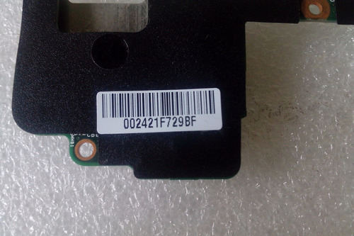 placa vga/ lan/ hdmi/sd card - itautec infoway note l9310