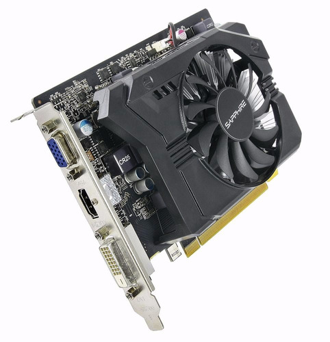 placa video amd radeon r7 250 1gb gddr5 vga dvi hdmi full hd