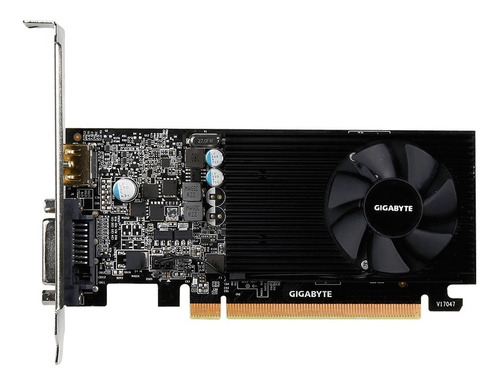 placa video geforce gigabyte gt 1030 2g hdmi dvi low profile