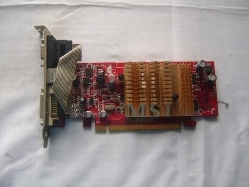 placa video pci-e msi rx300hm-td128elf 109-a26000-00c n13-4