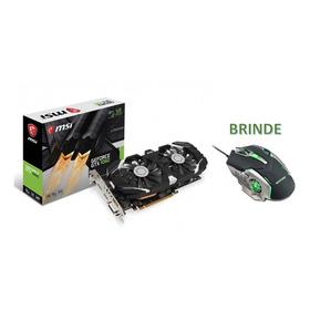 Placa Vídeo Vga Nvidia Msi Geforce Gtx 1060 Oc Dual Fan 6gb