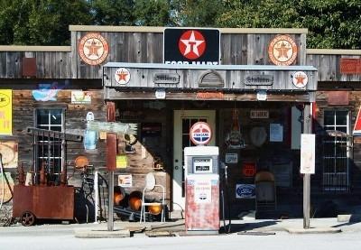 Placa Vintage King Mdf - 39x27cm - Gas Station - Bc 00112