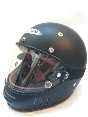 placa visor para casco zeus