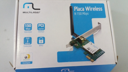 placa  weireless n150 mbps  multilaser re029