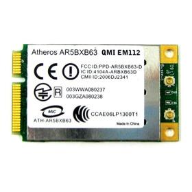 Placa Wi Fi Atheros Mod: Ar5bxb63
