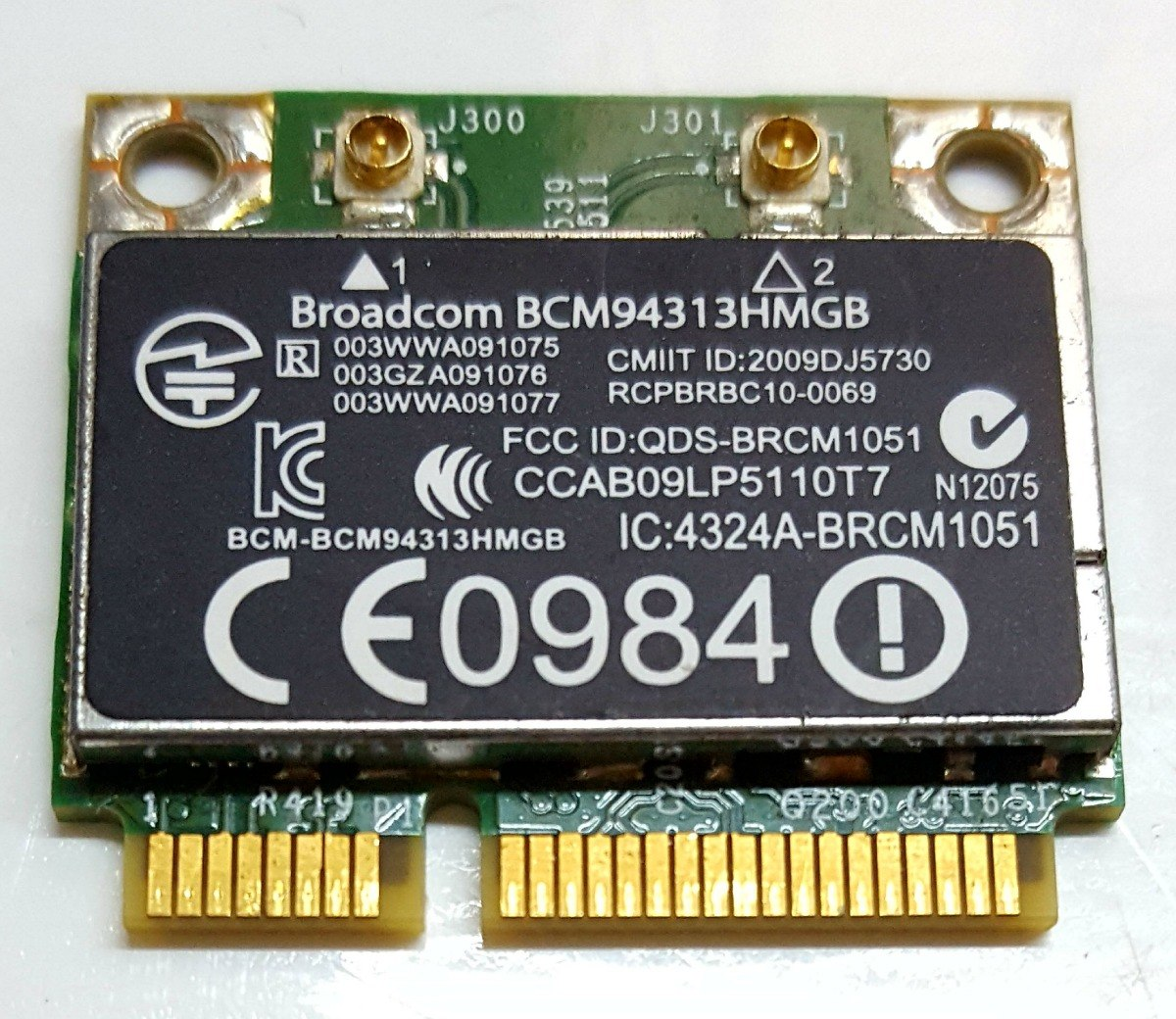 broadcom bcm94313hmgb driver windows 10