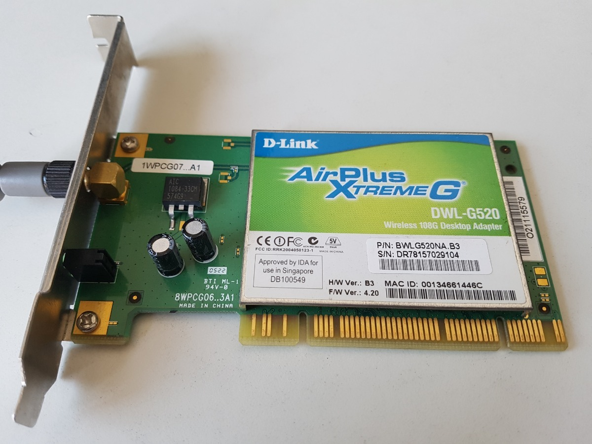 driver d-link airplus dwl-g520