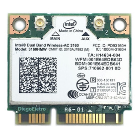Placa Wifi Dell Inspiron 15r Se 7520 - 5ghz Intel 433mbps