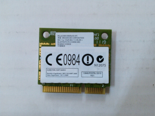 placa wifi p/ notebook broadcom wll6230b