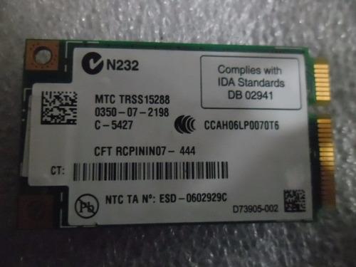 placa wifi para notebook dell xps e725 441082-001