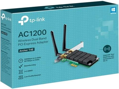 placa wifi red pci-e tp-link archer t4e ac1200 doble antena