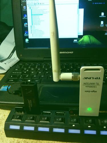 placa wifi tp-link tl-wn722n (ver 1.0) ar9271