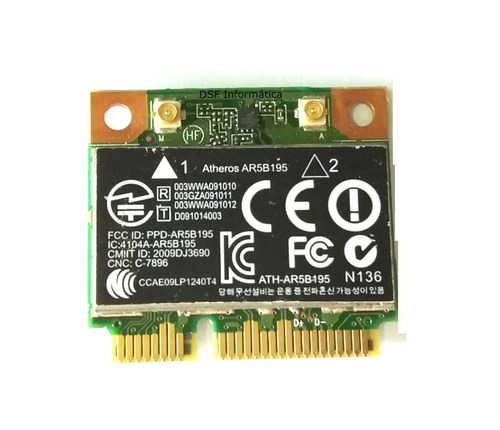 placa wifi wireless para notebook hp probook 4530s