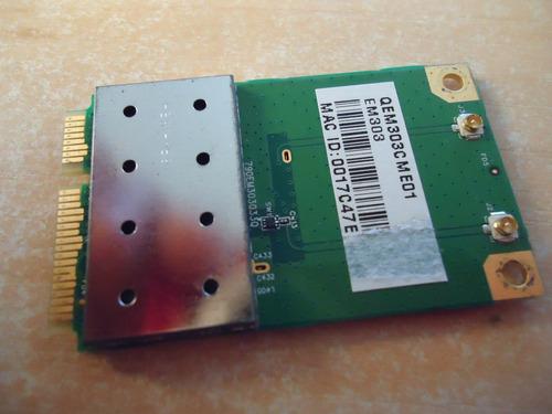 placa wifi, wirelles, rede sem atheros ar9281-al1a acer 4535