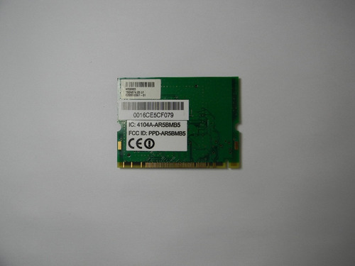 placa wireless acer - aspire 3100 p/n t60n874.05 cód. 1080