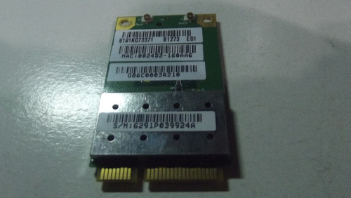 placa wireless ar5891-x notebook toshiba satellite a300