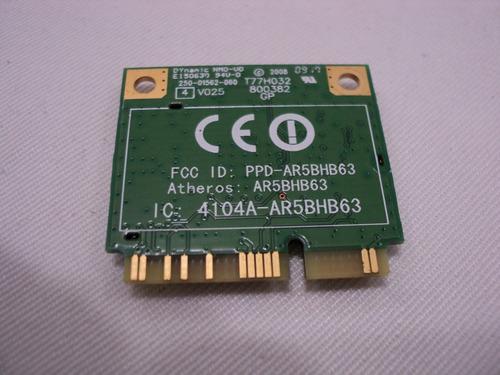 placa wireless ar5bhb63 acer aspire one rosa kav60