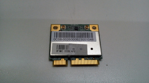placa wireless aw-nb037h para netbook itautec infoway w7030
