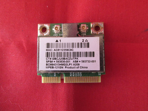 placa wireless hp mini cx22