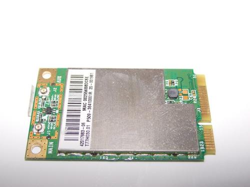 placa wireless lenovo g550 bcm94312