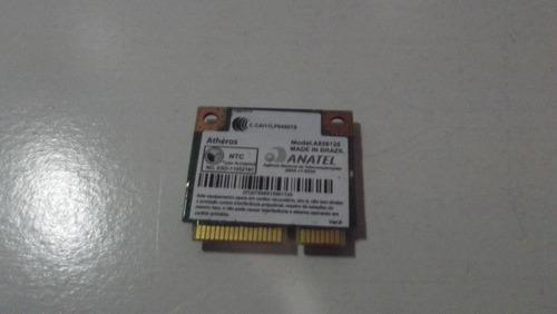 placa wireless mini pci atheros ar5b125 notebook acer 5733z