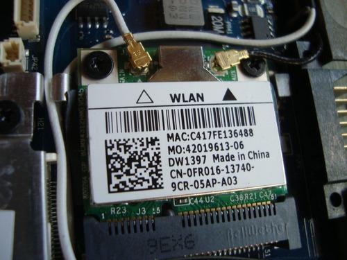 placa wireless mini pci netbook dell inspiron mini 10