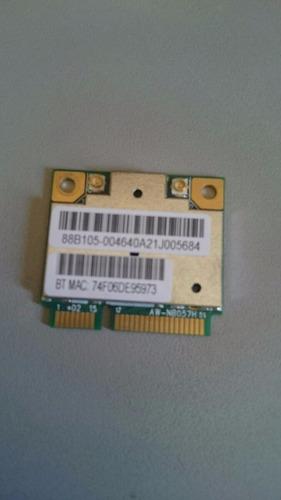 placa wireless mini pci realtek rtl8188cebt - itautec w7535
