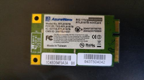 placa wireless notebook itautec w7655 rtl8187b azurewave