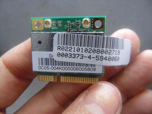placa wireless p notebook intelbrás i656 ath-ar5b95