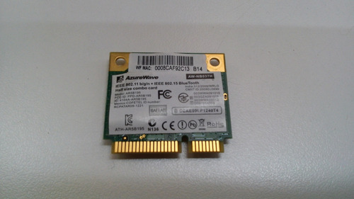 placa wireless para