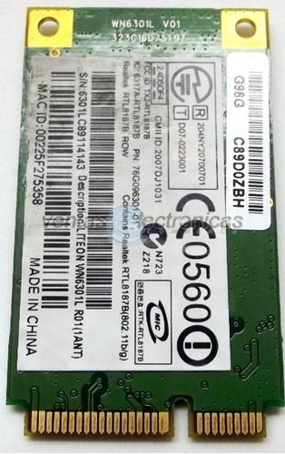 placa wireless para lanix lt1, gateway m1625  ipp4