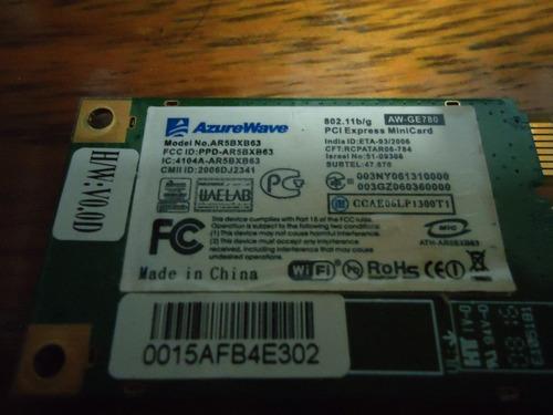 placa wireless pci-express azurewave ar5bxb63