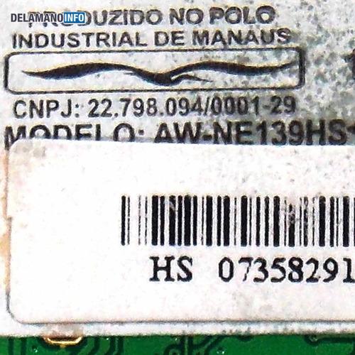 placa wireless philco 10c p723lm aw-ne139hs promoção (4750)