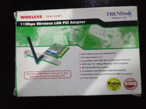 TRENDNET TEW-503PI A WIRELESS NETWORK ADAPTER DRIVER DOWNLOAD FREE