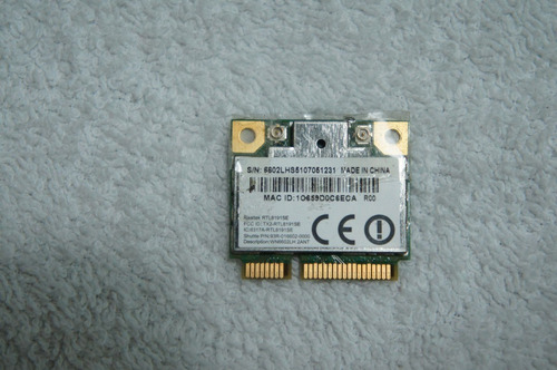 placa wirelles mini pci cce win bps - bps2