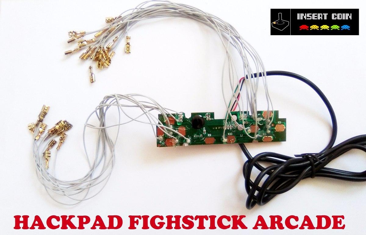 Placa Xbox 360 Wireless Cableada Para Armar Control Arcade ...