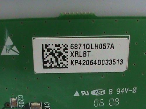 placa xrrbt/xrlbt tv plasma lg 42pc1rv