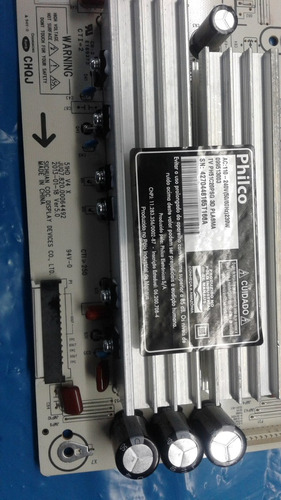 placa y sus tv philco ph51c20psg 3d
