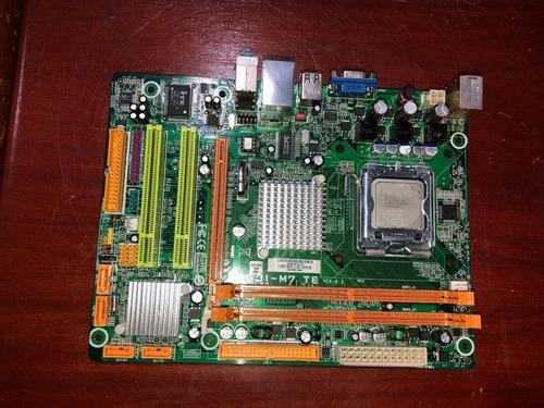 placamadre intel  dual core 2.4 4gidas ram biostar g31m7te