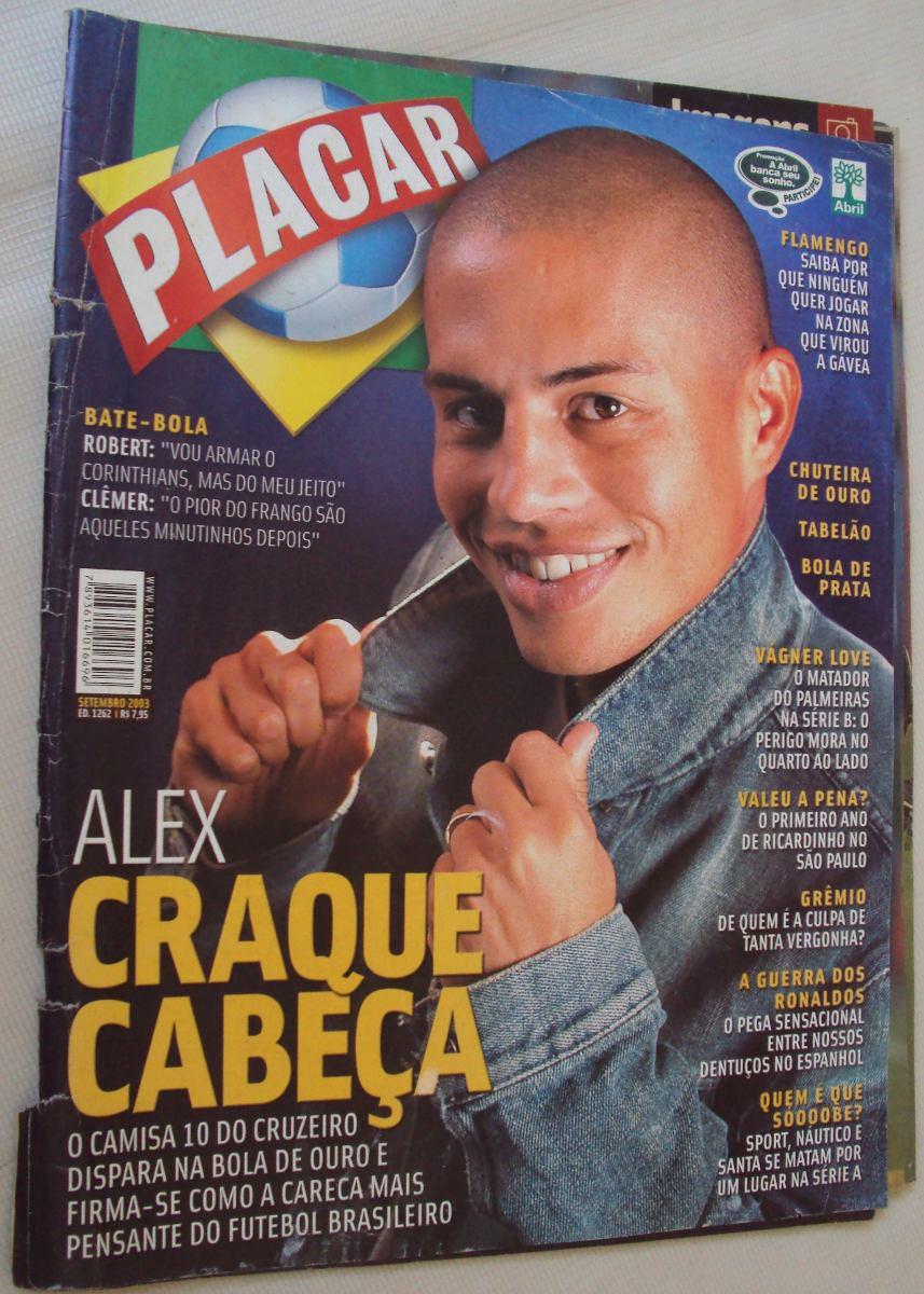 8f1397db03 Placar 1262 2003 Campeonato Brasileiro Capa Mg - R  10