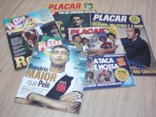 placar - centenas de revistas - complete a sua coleção